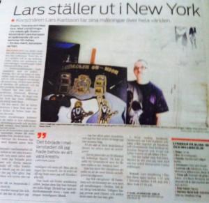 Lars till New York