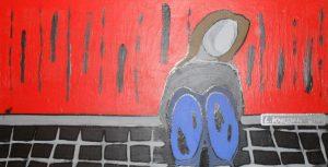 lonely-girl-akrylmalning-pa-traskiva-39-x-74-cm